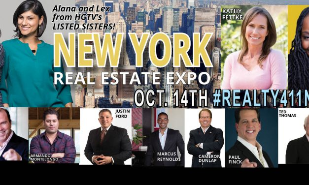 HGTV Stars to Speak at Realty411's Expo in NYC – Magazine to Reach Millions Via their Media Campaigns this Month
