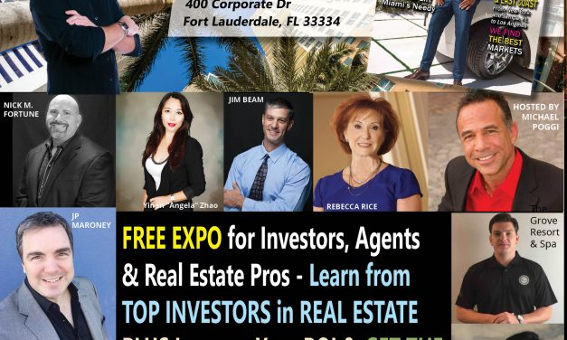 Did You RSVP for Our Florida Event to Celebrate Our Real Estate Wealth Edition? DO IT HERE!