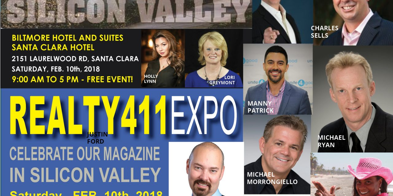 Silicon Valley's LEVERAGE Expo with Realty411 Magazine