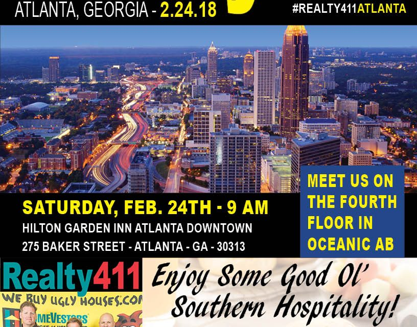 Join Us this Saturday in Atlanta, Georgia – LEARN MORE HERE!