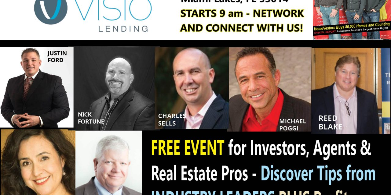 Join Us in South Florida in April – Network with Fantastic Companies and Sophisticated Investors