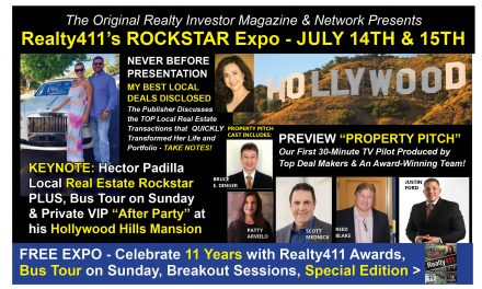 Learn About Realty411's ROCKSTAR EXPO on July 14th and 15th in Los Angeles, CA